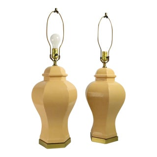 PrCeramic Lamps by Paul Hanson For Sale