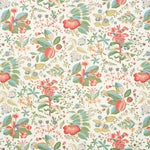 Schumacher Pomegranate Botanical Wallpaper in Document , Sample