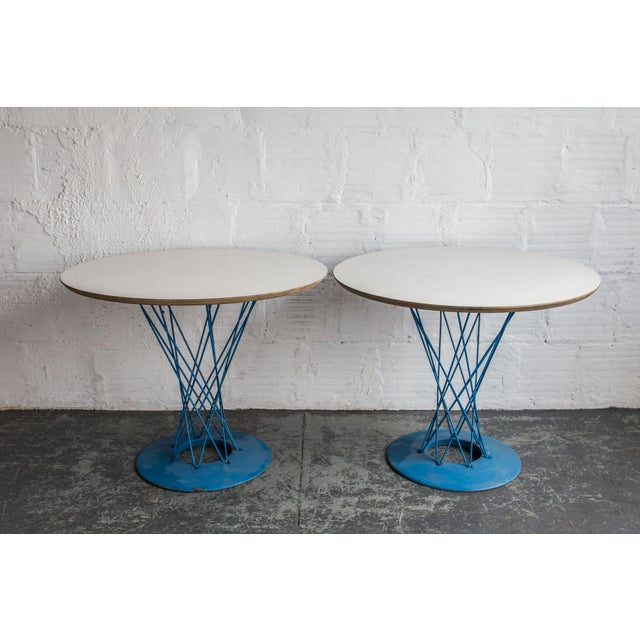 Mid-Century Modern Isamu Noguchi for Knoll Cyclone Table For Sale - Image 3 of 7