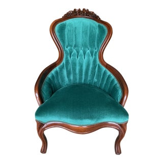 Vintage Victorian Style Lady's Chair For Sale