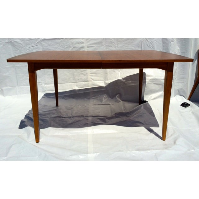 Mid-Century Modern Mid-Century Dining Table by Kipp Stewart For Sale - Image 3 of 7
