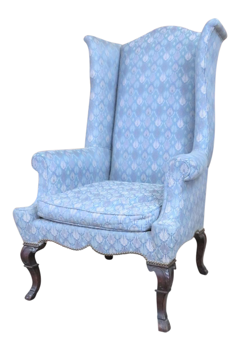 Delicieux Chippendale Highback Wing Chair