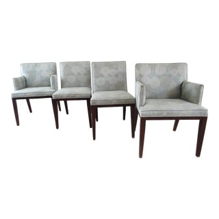 Mitchell Gold + Bob Williams Upholstered Dining Chairs - Set of 4 For Sale