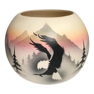Hozoni Pottery Sacred Messenger Vase For Sale