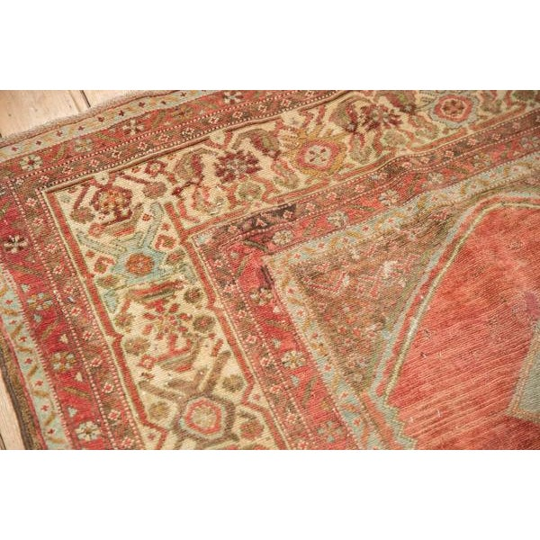 """1930s Vintage Distressed Malayer Rug - 5' X 7'7"""" For Sale - Image 5 of 13"""