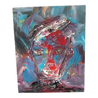 "William Alexander ""Madman Series"" Painting For Sale"
