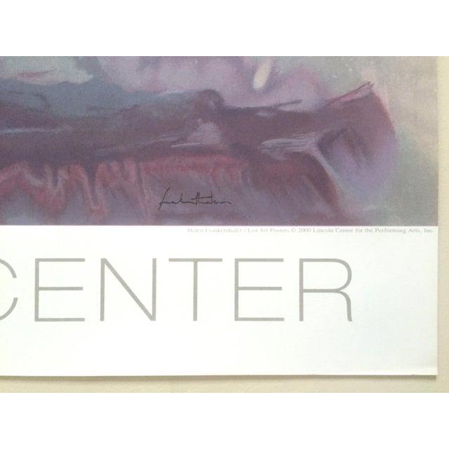 "Helen Frankenthaler Rare Lmtd Edtn Original Hand Pulled Silkscreen Print "" Grey Fireworks "" 1982 For Sale - Image 12 of 13"