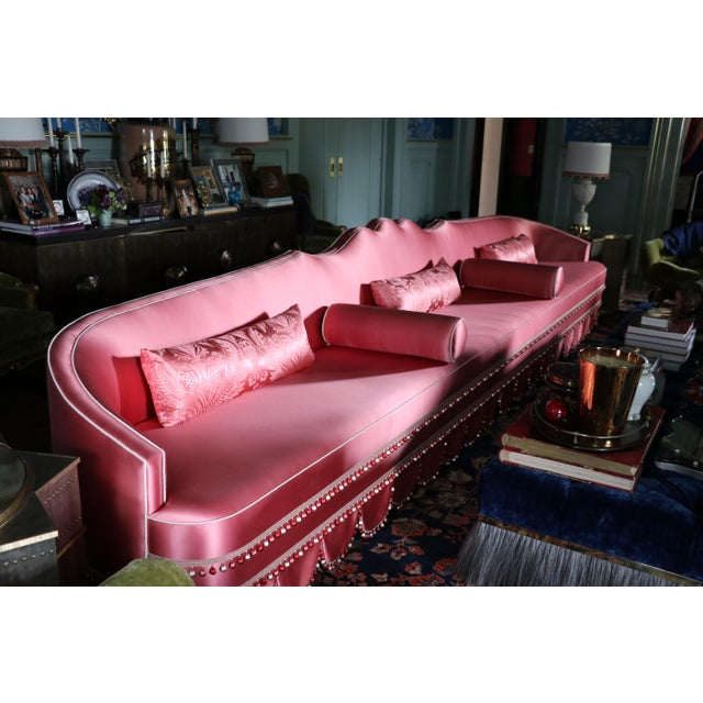 Oversized Extra Long Sofa For Sale - Image 11 of 12