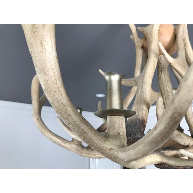 2010s Restoration Hardware Adirondack Antler Chandelier For Image 5 Of 8