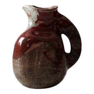 Mid-Century Studio Pottery Pitcher For Sale