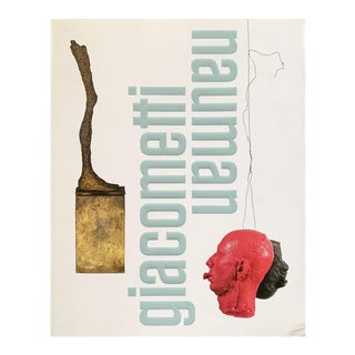 Alberto Giacometti and Bruce Nauman Exhibition Catalogue For Sale