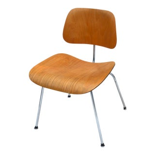 Eames Plywood Molded Dcm Chair for Herman Miller 1960s For Sale