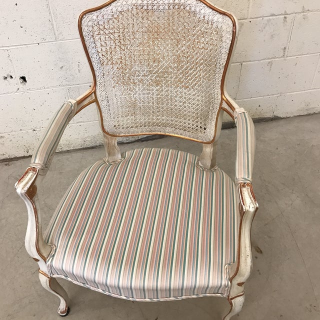 Fratelli Boffi Italian French Style Chair For Sale - Image 10 of 11