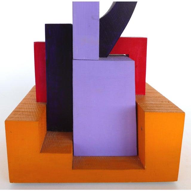 Purple Wendy Vanderbilt Lehman Assemblage Sculpture For Sale - Image 8 of 11