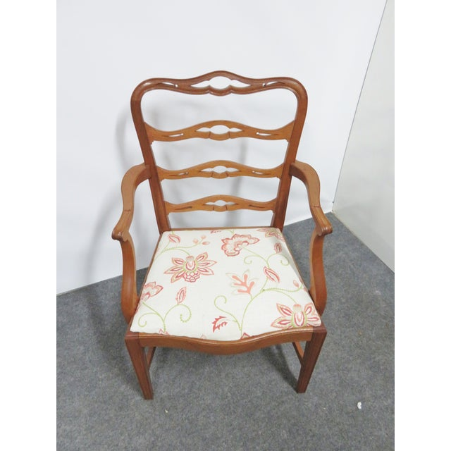 Mahogany Chippendale Saybolt & Cleland Ribbonback Mahogany Dining Chairs - Set of 6 For Sale - Image 7 of 10