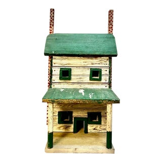1930s Primitive Folk Art Bird House For Sale