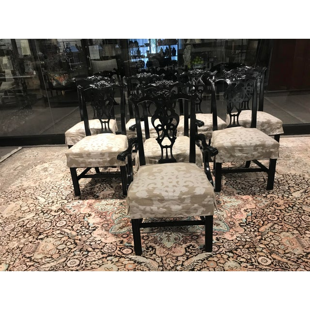 Century Furniture Dining Chairs - Set of 8 For Sale In Detroit - Image 6 of 6