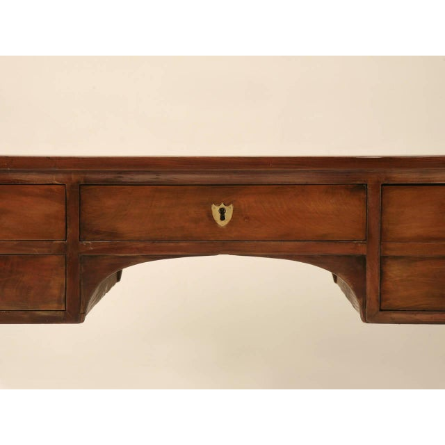 Antique French Mahogany Desk For Sale - Image 4 of 11
