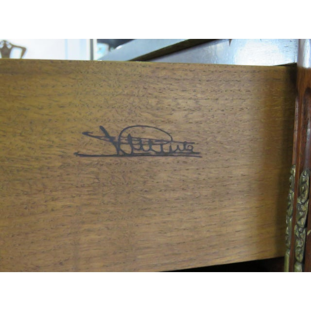 Maison Jansen Directoire Style Cylinder Desk For Sale In Philadelphia - Image 6 of 11