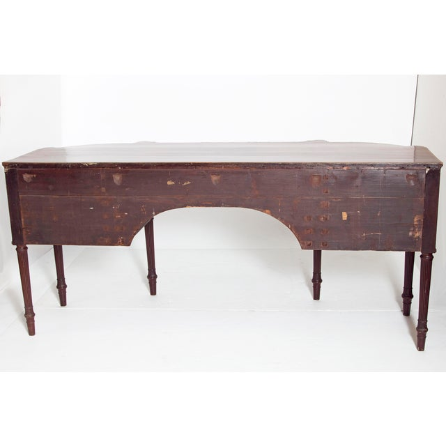 Late 18th Century Mahogany George III Sideboard With Cellerette For Sale - Image 11 of 13