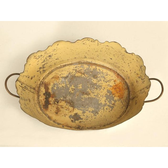 French French Tole Jardinière C. 1800s For Sale - Image 3 of 9