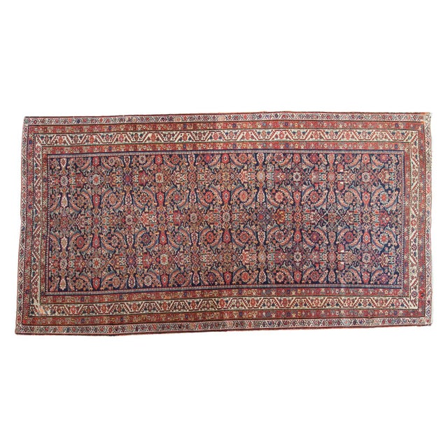 "Antique Malayer Rug Runner - 5'2"" X 9'9"" - Image 1 of 10"
