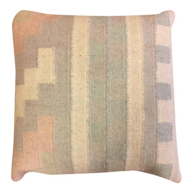 Handmade Dhori Indian Kilim Pillow Cover - Image 1 of 5