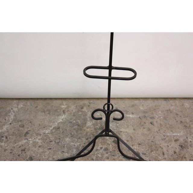 Frederick Weinberg Style Iron Tripod Valet - Image 5 of 9