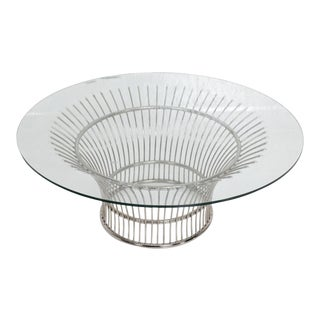 Coffee Table After Warren Platner, Contemporary For Sale