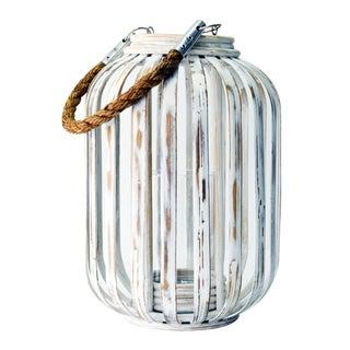 Selamat Designs Moana Lantern in White Wash For Sale