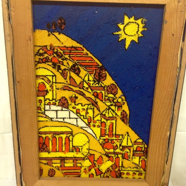 Mid 20th Century Mid-Century Tapestry After Fernand Ledger For Sale - Image 5 of 5