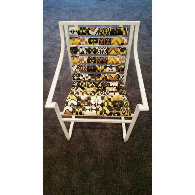Samsonite Tubular Steel Patio Chairs - a Pair - Image 3 of 9