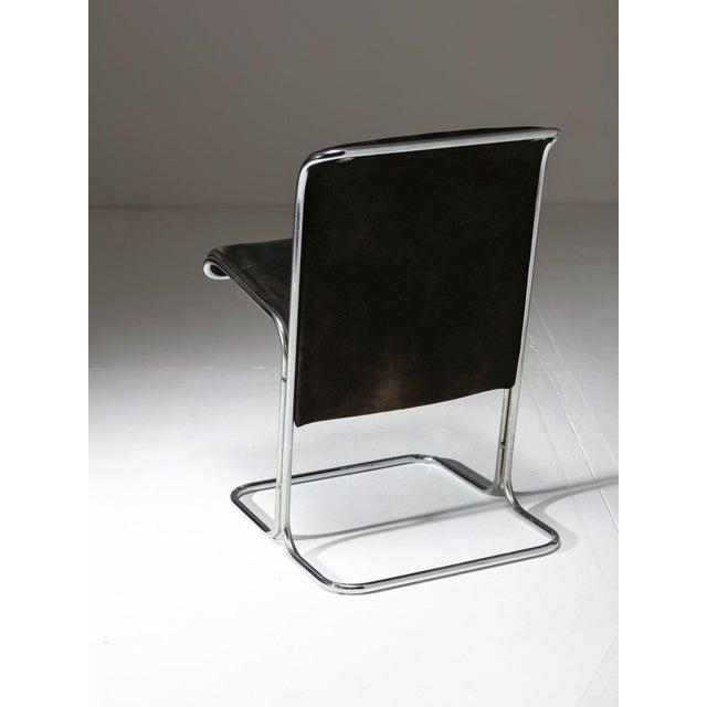 "Arflex Set of 6 ""Calla"" Chairs by Antonio Ari Colombo for Arflex For Sale - Image 4 of 6"