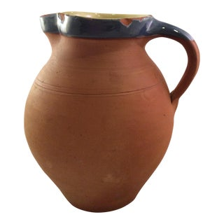 Rustic Pottery Jug For Sale