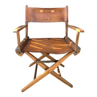 Vintage Hollywood Director's Chair For Sale