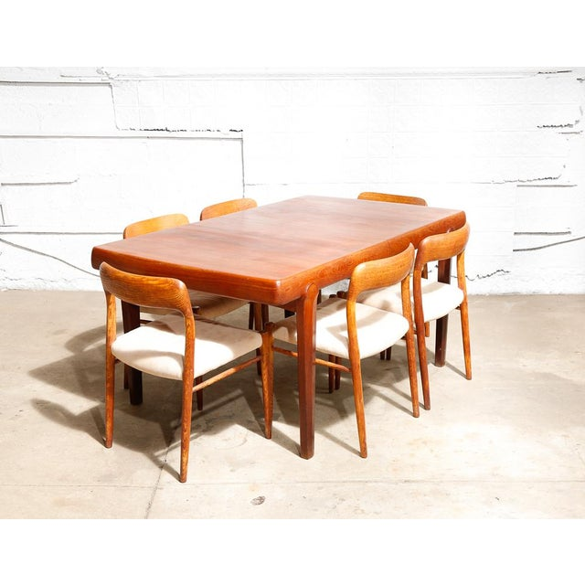 Danish Modern Dining Table - Image 10 of 11