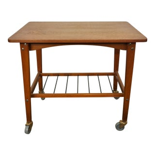 Mid-Century Modern Teak Side Table - Stina For Sale