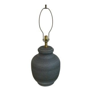 Mid-Century Modern Ceramic Lamp by Lee Rosen/Design Technics For Sale