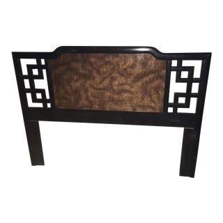 Mid-Century Dixie Hollywood Regency Headboard