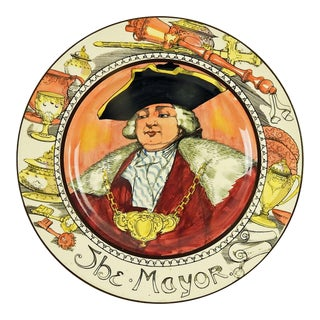 "Royal Doulton Series ""The Mayor"" Ware Plate For Sale"