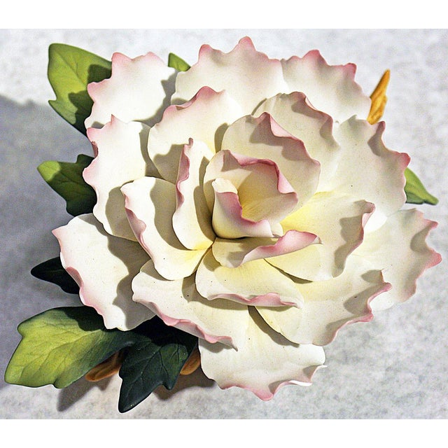 Andrea of Sadek Bisque-Porcelain Flower - Image 5 of 8