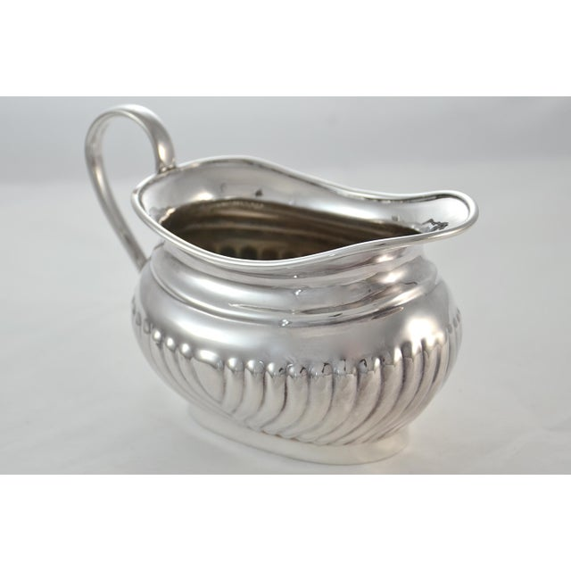 English Sheffield Silver Plate Coffee & Tea Set- 4 Pieces For Sale In Chicago - Image 6 of 11