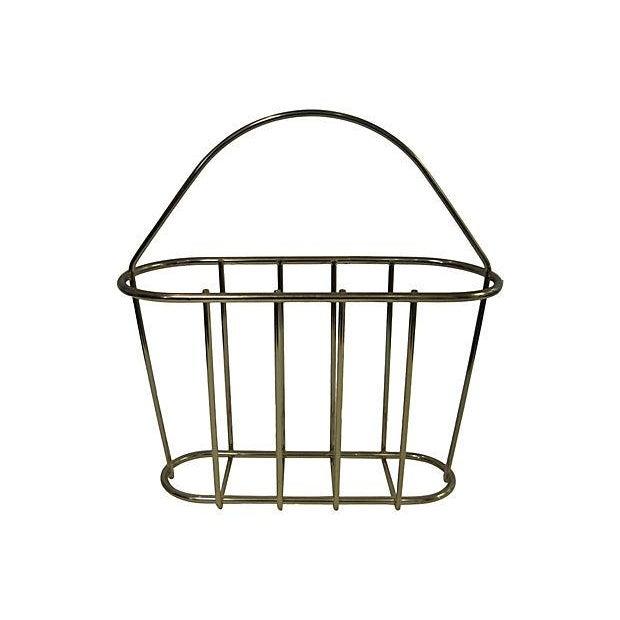 Vintage Magazine Basket - Image 1 of 2