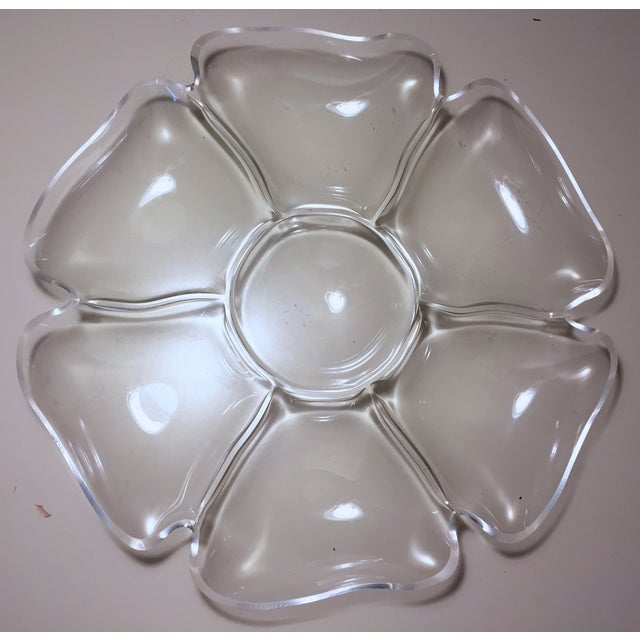 Vintage Lucite Flower Tray - Image 6 of 6