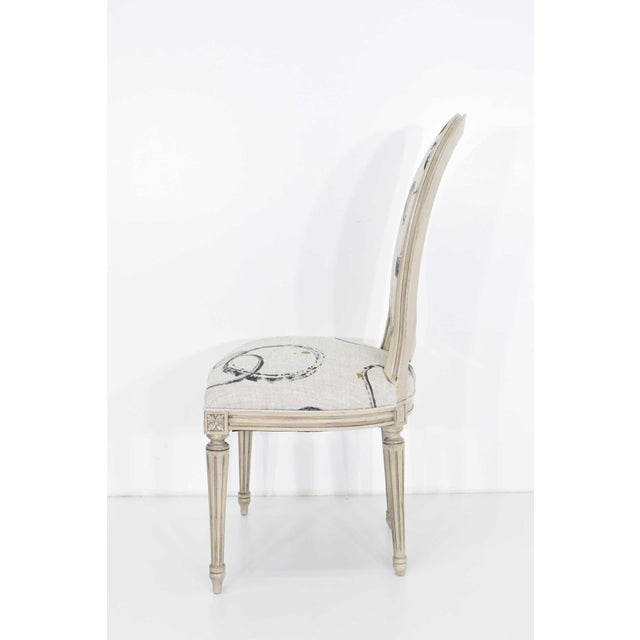 1960s Louis XVI Dining Chairs by Widdicomb - Set of 6 For Sale - Image 5 of 10