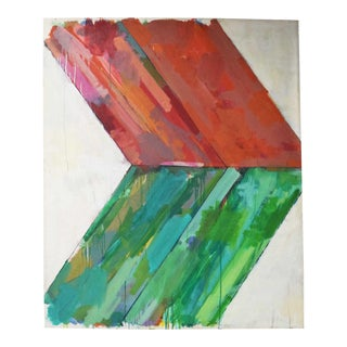 Large Abstract by John Simpson, Dtd. 1964 For Sale