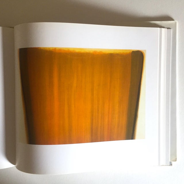 """Cardboard Vintage 1st Edtn """"Morris Louis Moma"""" Collector's Abstract Expressionist Art Book, 1986 For Sale - Image 7 of 13"""