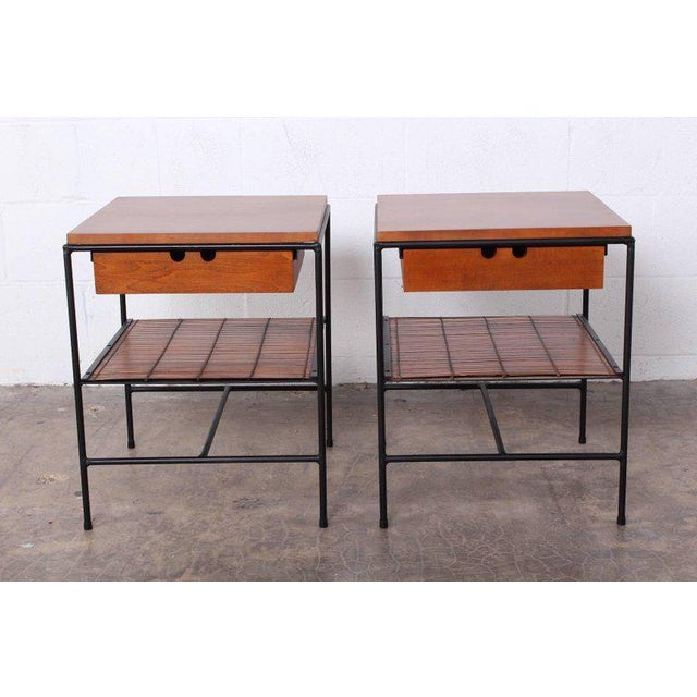 Mid-Century Modern Pair of Nightstands by Paul McCobb For Sale - Image 3 of 10