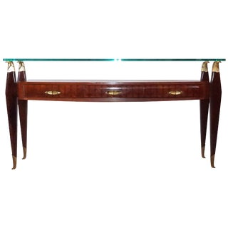20th Century Italian Osvaldo Borsani Console For Sale