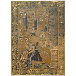 Antique 17th Century Flemish Tapestry With the Liberal Arts & Areas of Knowledge For Sale